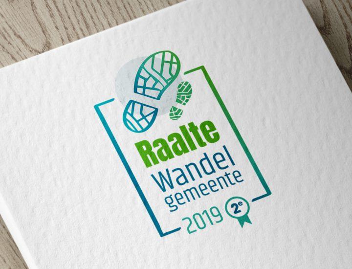 Gemeente Raalte Wandelgemeente Logo