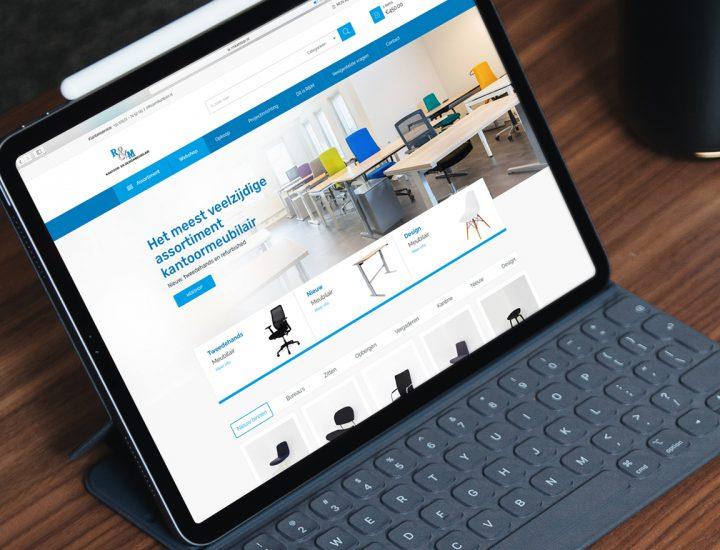 R&M Kantoor- en Designmeubilair Website